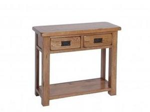 WOODLAND 2 DRAWER CONSOLE TABLE in Sandown