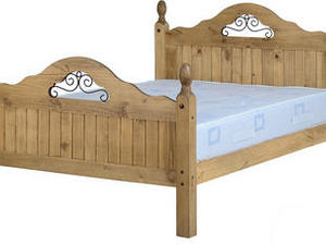 CORONA SCROLL BED  4'6 in Sandown