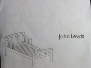 John Lewis Boris Toddler Bed