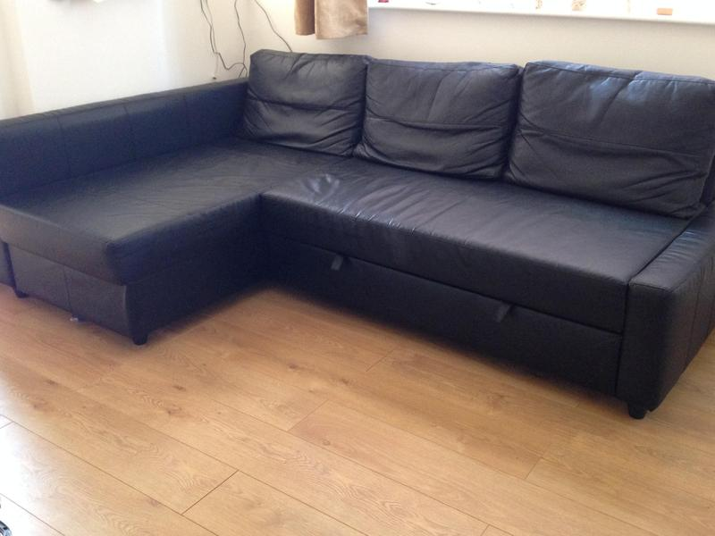 Ikea Corner Sofa Bed With Storage Ryde Sold Wightbay