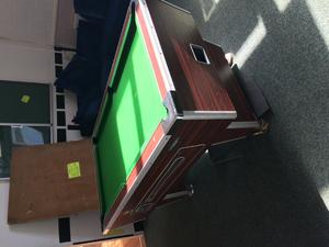 Leisure Bay Pool Table Parts Pool Table, normal pub size - Ryde - Sold | Wightbay