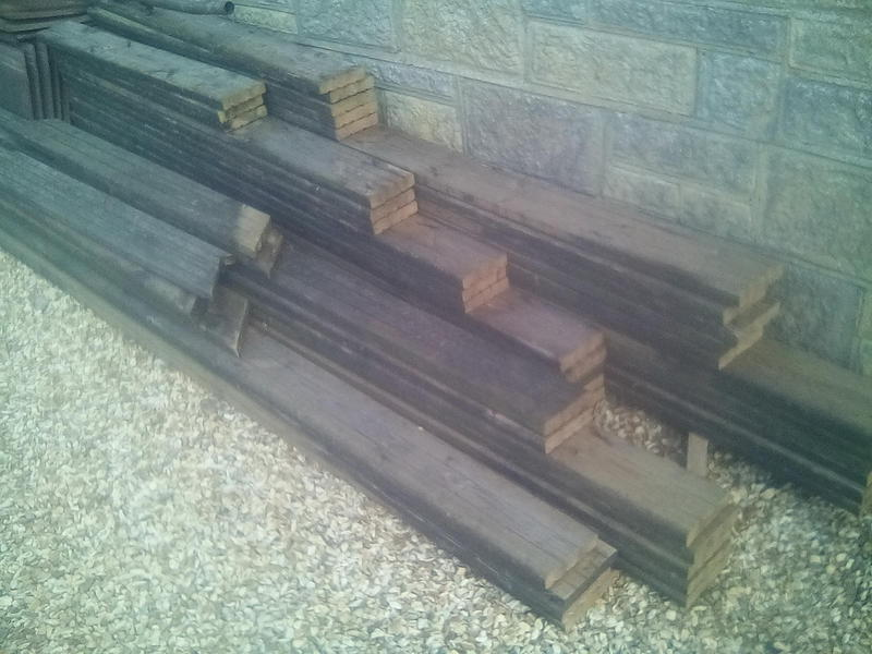 Decking boards for sale shanklin sold wightbay for Decking planks for sale