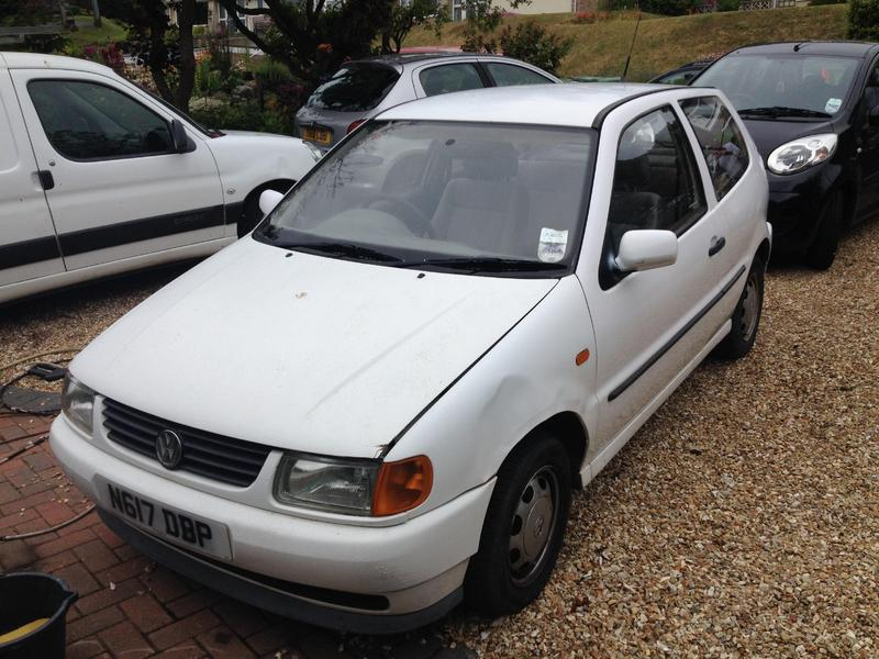 volkswagen polo 1995 reduced in ventnor wightbay. Black Bedroom Furniture Sets. Home Design Ideas