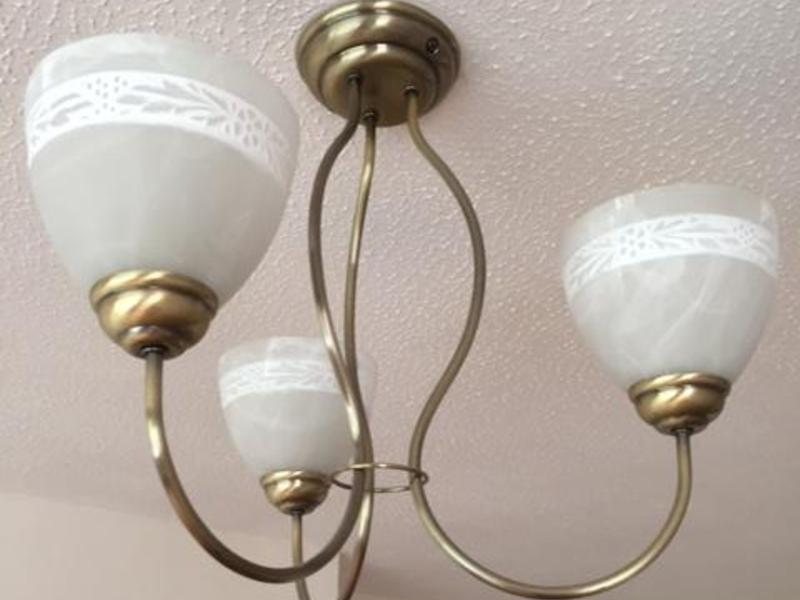 Wall Lights With Matching Ceiling Lights : Ceiling Light & 4xMatching Wall Lights - Seaview Wightbay
