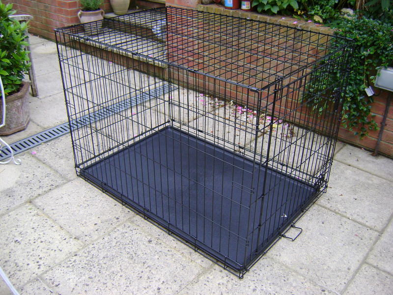 Wight Of Large Dog Crate