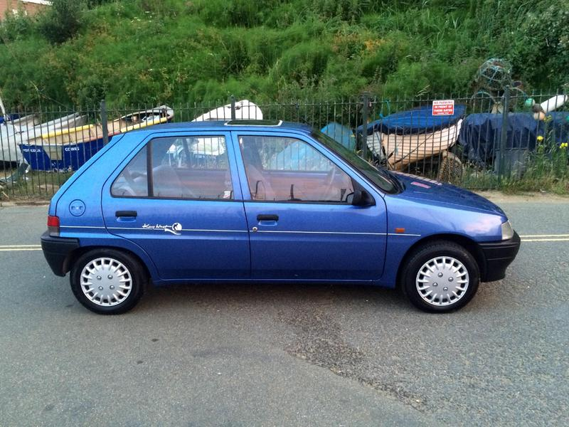 1994 peugeot 106 1 4 d 5 door in shanklin expired wightbay. Black Bedroom Furniture Sets. Home Design Ideas