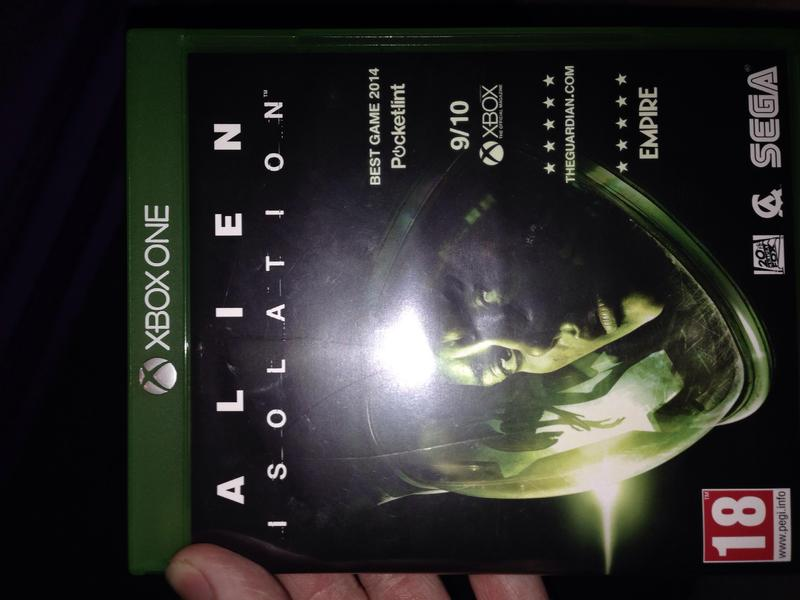 alien isolation xbox one great condition 8 sandown wightbay. Black Bedroom Furniture Sets. Home Design Ideas