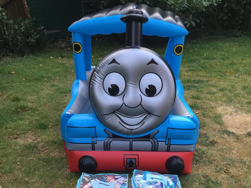 thomas the tank engine paddling pool ball pit and 400 balls ryde sold wightbay