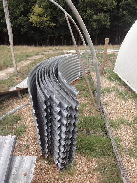 Curved Roofing Sheets : Curved corrugated roof sheets yarmouth wightbay