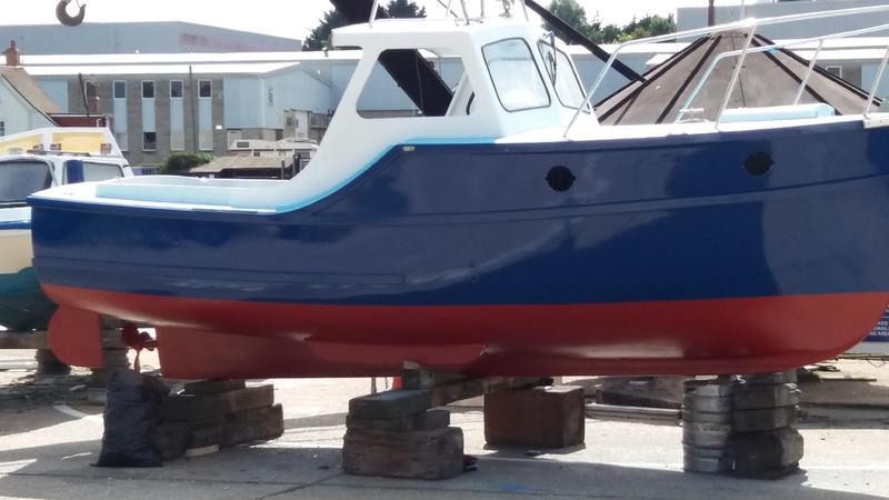 Colvic fishing boat in east cowes expired wightbay for How much does a fishing boat cost