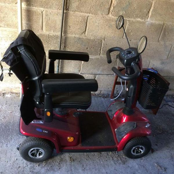 used red mobility scooter for sale cowes wightbay. Black Bedroom Furniture Sets. Home Design Ideas