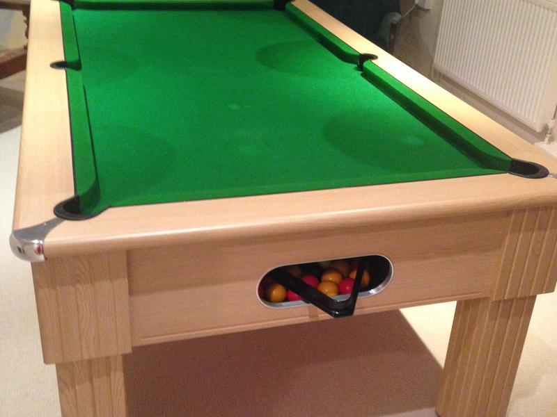 Leisure Bay Pool Table Parts Pool table and overhead light - Cowes | Wightbay