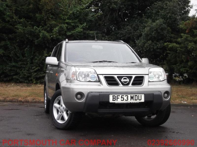 nissan x trail 2003 in portsmouth wightbay. Black Bedroom Furniture Sets. Home Design Ideas