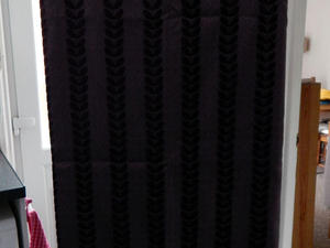 Deep Purple Curtains : Colour Match Spot Curtains Newport Wightbay