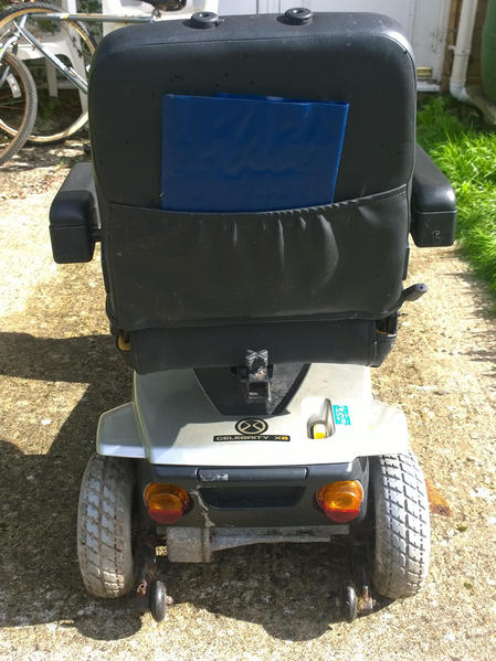 Used 2011 Pride Celebrity X Mobility Scooter 4 wheel ...