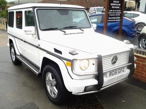 2002 Mercedes G500 Wagon 5.0 V8 with LPG