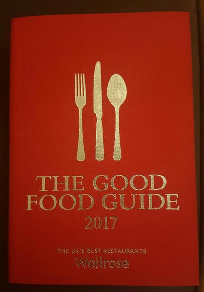 2017 the good food guide cowes expired wightbay for Cuisine good food guide 2017