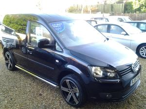 2015 VW Caddy Highline 1.6TDI DSG C20 R-Line Leather, Crome Bars, New Alloys.... in Ventnor