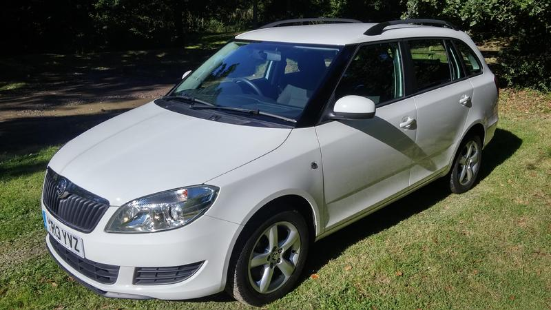 skoda fabia automatic estate with low miles in sandown wightbay. Black Bedroom Furniture Sets. Home Design Ideas