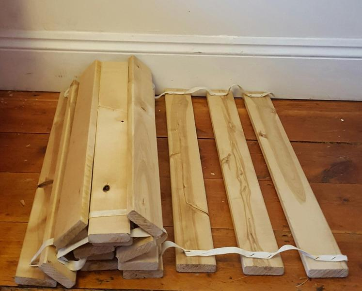 Ikea Grundtal Kitchen Roll Holder ~ Ikea wooden bed slats, 2 sets, each set measures 70cm x 200cm Good