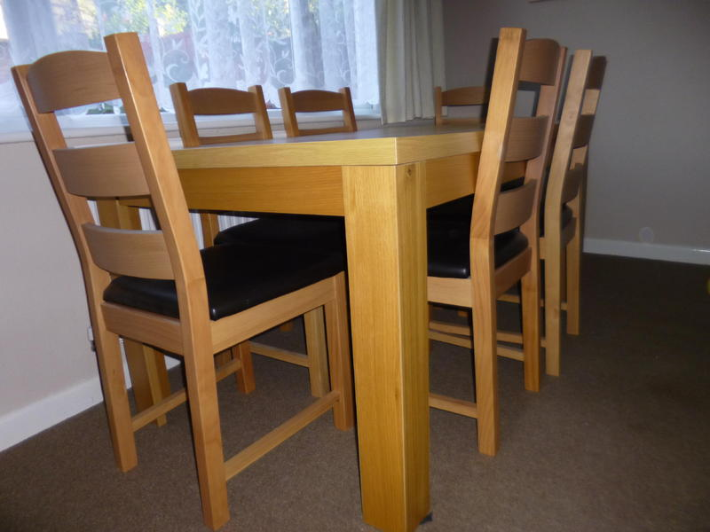 dining table and 6 chairs for sale ryde sold wightbay
