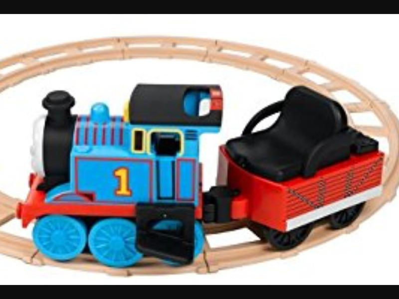 Thomas The Tank Engine Ride On Train Amp Track Ryde Wightbay