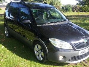Skoda Roomster TDi - 'Scout' Special Edition!
