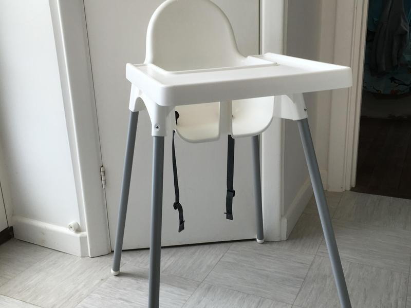 ikea antilop white high chair ryde expired wightbay. Black Bedroom Furniture Sets. Home Design Ideas