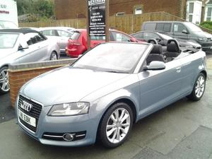 2010 Audi A3 Cabriolet 2.0TDI S Tronic Sport s/s