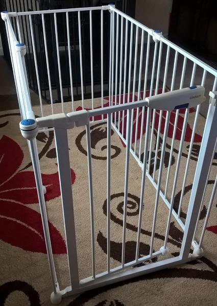 lindam baby gate instructions