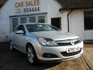2007 VAUXHALL ASTRA 1.6 TWIN TOP SPORT £3,295