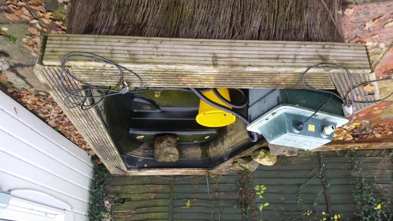 Fish pond for sale east cowes wightbay for Outdoor fish ponds for sale