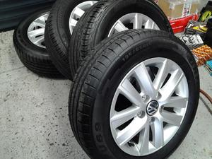 VW Caddy Alloys with tyres 195/65 R15 5x 112 stud pattern in Ventnor
