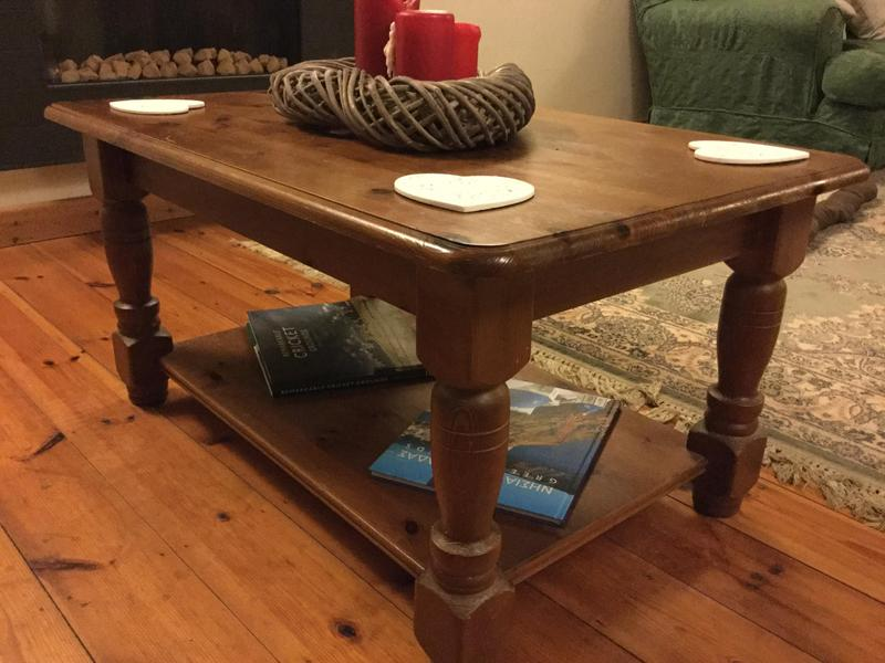 Solid Pine Coffee Table Offers Accepted In Newport Wightbay