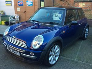 2002 Mini Cooper 1.6 Chilli Pack