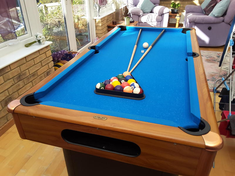 Leisure Bay Pool Table Parts Pool table in Seaview - Sold | Wightbay
