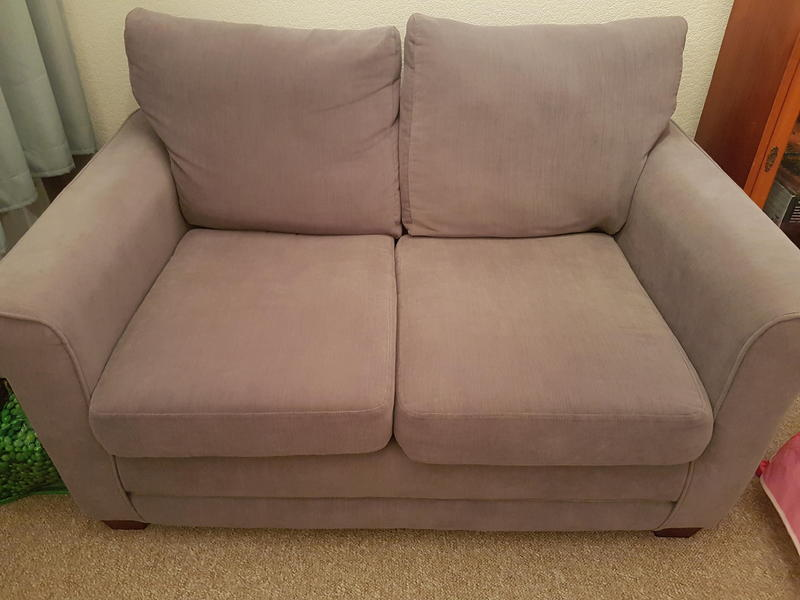 For sale two seater grey sofa excellent condition for Gray sofas for sale