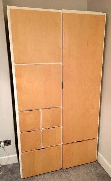 Two ikea rakke wardrobes in great condition ryde wightbay for Ikea delivery phone number