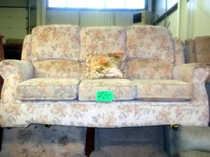 Sofa & armchair £95 in Cowes