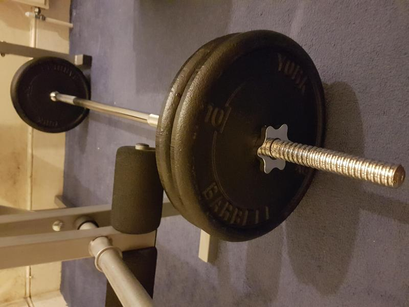bench press and york barbell for sale weights not