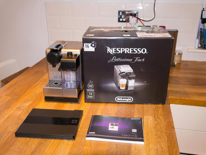 nespresso lattissima touch descaling instructions