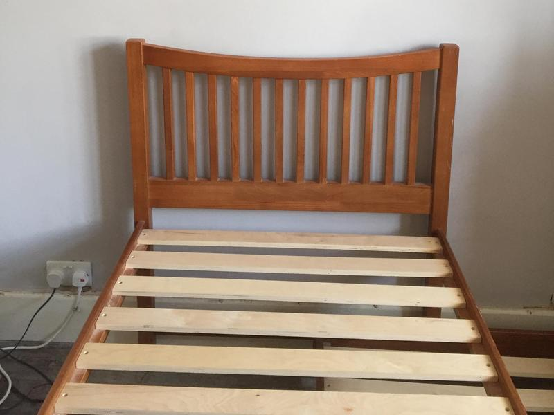 John Lewis Hardwood Single Bed With Under Bed Turns Into