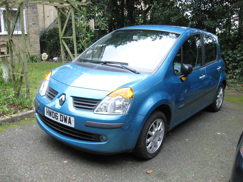 renault modus 1 6 2006 automatic with manual option in ryde sold wightbay. Black Bedroom Furniture Sets. Home Design Ideas