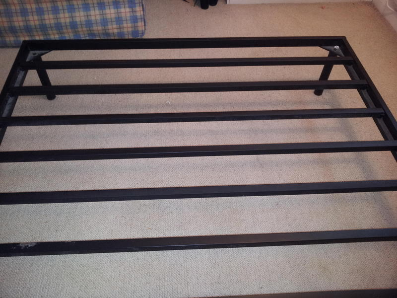 Double bed frame ryde wightbay - Low sitting bed frame ...