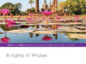 Thailand offer – Phuket 8 nights 4 star from £629pp   - Not Just Travel Isle of Wight in Shanklin