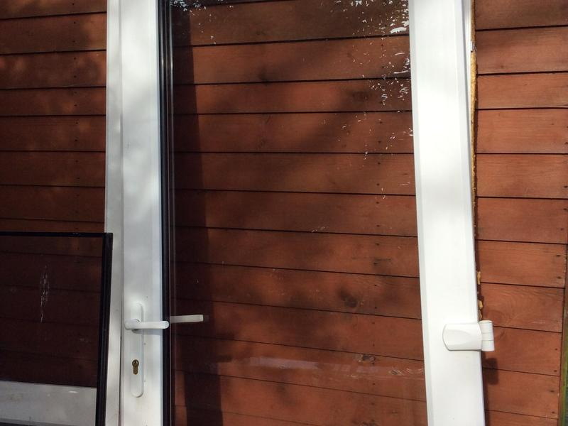 Double glazed patio single door ryde wightbay for Double glazed patio doors sale
