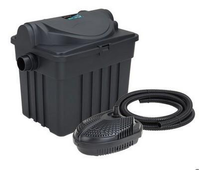 Boyu Uv Light Pond Fish Filter 500 5000l With New Filters 120rrp Comes With Waterfall