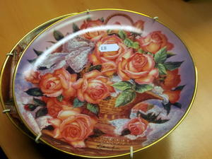 Katherine Austen Limited Edition plates in Cowes