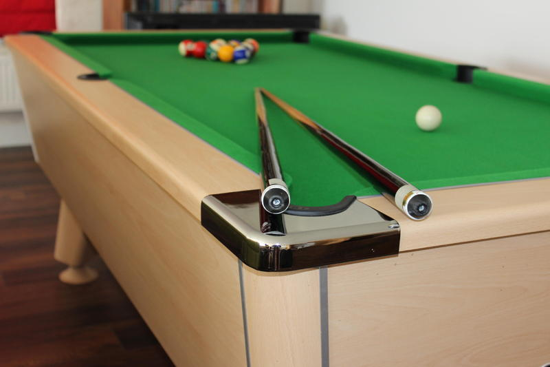 6ft slate bed pool table ventnor wightbay for Pool table 6 x 3