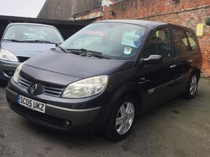 2005 Renault Grand Scenic 7 Seater 1.6 VVT Dynamique